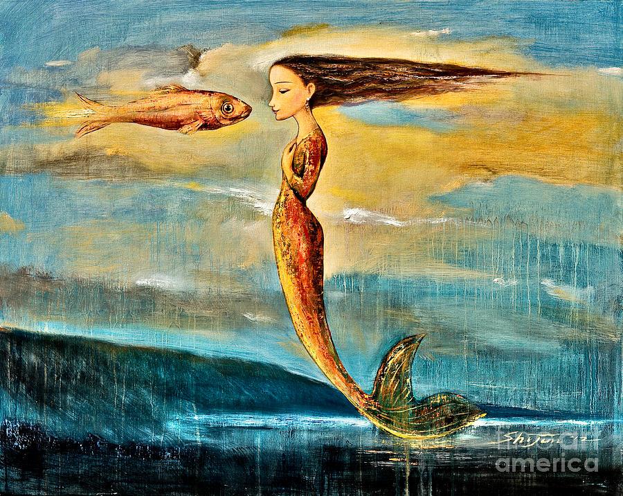 Mystic Mermaid IIi by Shijun Munns.
